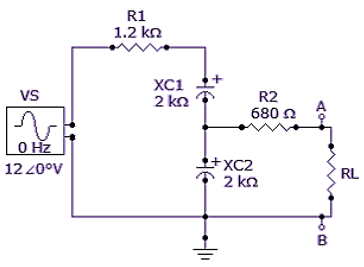 Determine VTH if R1 is changed to 3.3 kΩ.