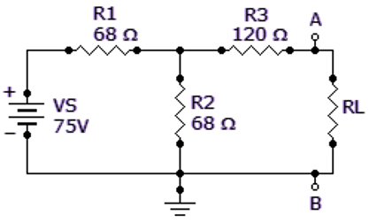 Find RN for the circuit given