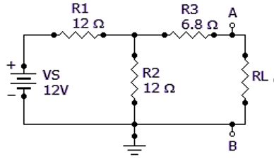 Find the Norton circuit, that is, IIN and RN, for the circuit given below